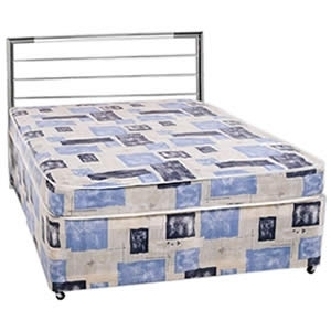 Economy 3/4 4ft small double divan set