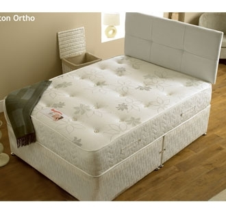 Hilton orthopeadic 3ft single divan set
