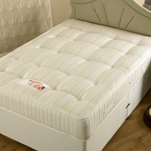 highlander orthopeadic 4ft6 double divan set