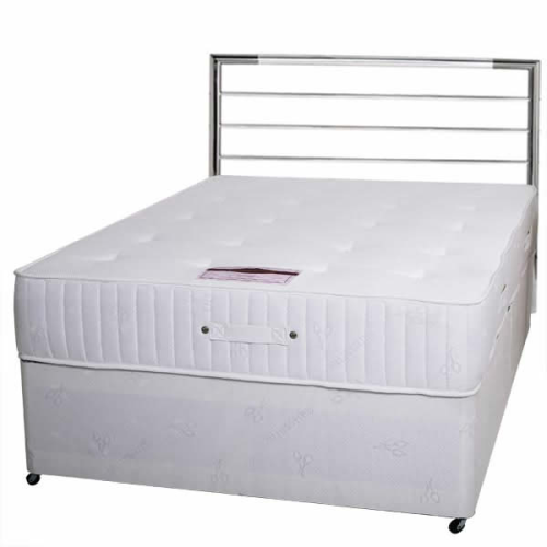 "Divine orthopeadic 4ft 6"" double mattress"