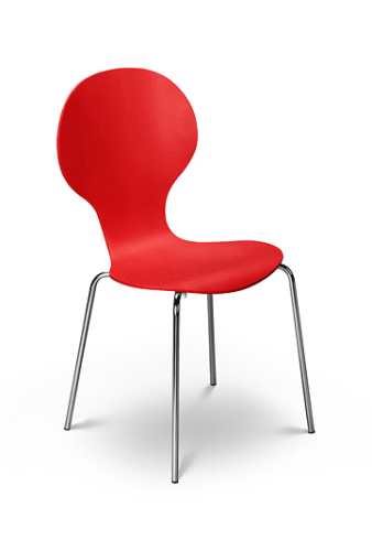 Keeler Chair- Tomato