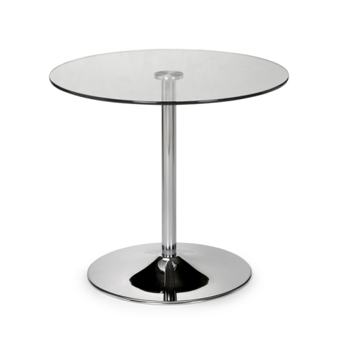 Kudos Glass Pedestal Table