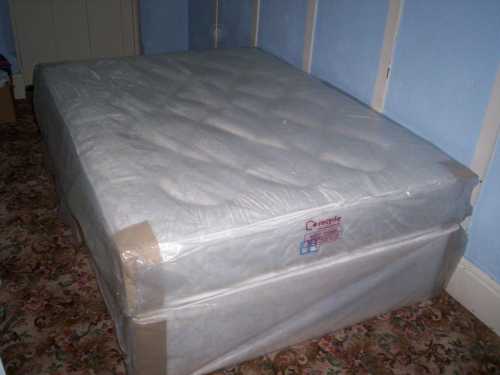 Double divan bed orthopiedic free same day  local delivery